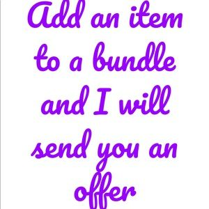 Other - Make a bundle!!!!